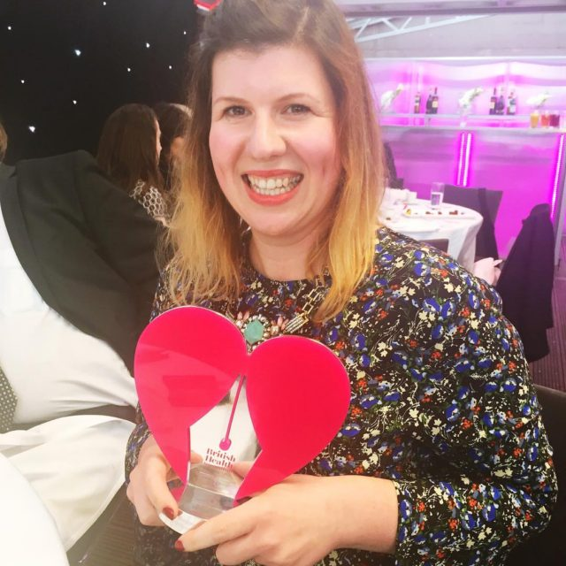 Totally gobsmacked to win Blogger of the Year at thehellip